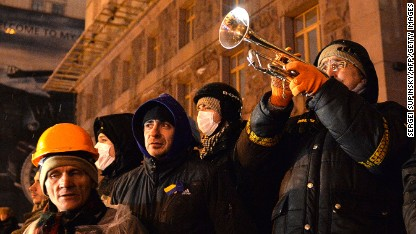 Freeze fails to deter Kiev protesters
