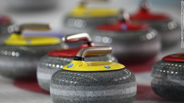 Finally, the stones are topped with their handles and ready for the ice in Russia.