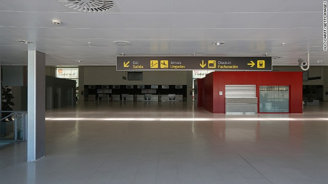 Opening in 2008, the airport cost a reported $1.5 billion -- 10 times its current starting auction price -- to build.