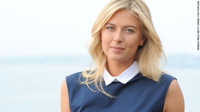 Tennis star Maria Sharapova is one of the most marketable players in the world. She is one of the highest earning female athletes and is the third highest earner in women's tennis behind Serena and Venus Williams.