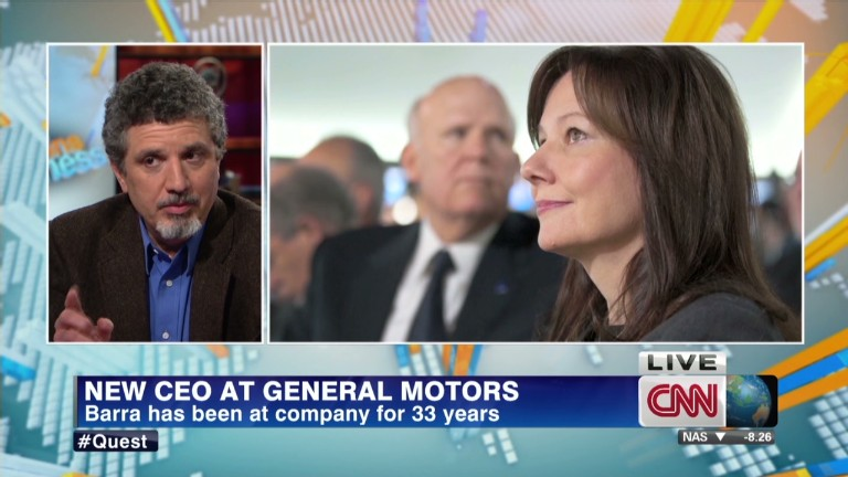 Who is GM's new CEO?...