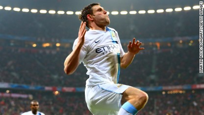 Football: City fightback stuns Bayern