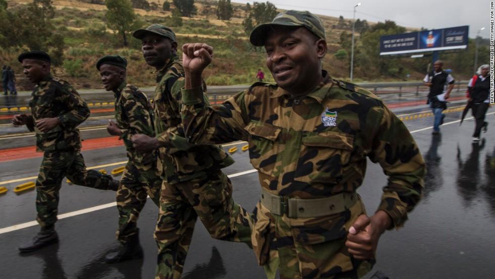 Sudáfrica y el mundo despiden a Nelson Mandela