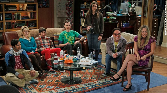 "Outstanding ensemble in a comedy series: ""The Big Bang Theory"" (pictured); ""30 Rock,"" ""Arrested Development,"" ""Veep,"" ""Modern Family."""