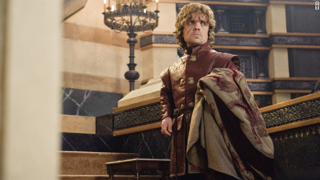 "Outstanding male actor in a drama series: Peter Dinklage ""Game of Thrones"" (pictured); Steve Buscemi ""Boardwalk Empire;"" Bryan Cranston ""Breaking Bad;"" Jeff Daniels ""The Newsroom;"" Kevin Spacey ""House of Cards."""