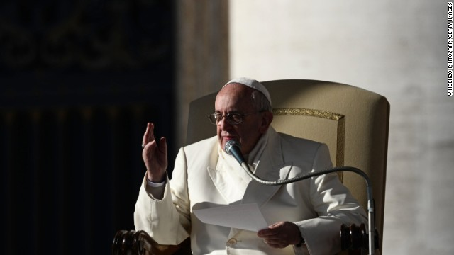 Pope Francis: Church could support civil unions