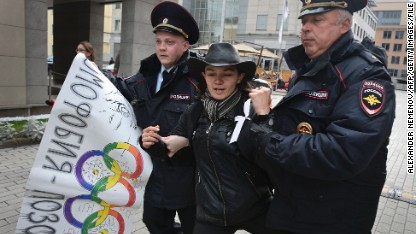 Winter Olympics: Protest zones in Sochi