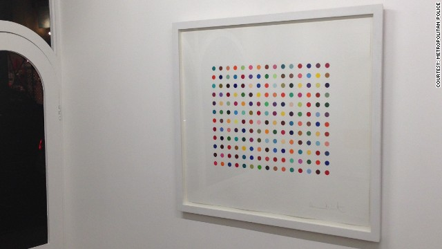 Hirst artworks stolen in London...