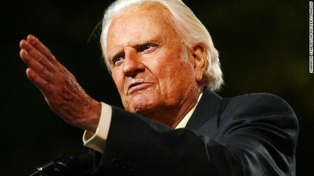 Billy Graham has reached tens of millions of people through his Christian rallies and developed a relationship with every U.S. president since Harry Truman. He celebrated his 95th birthday this year.