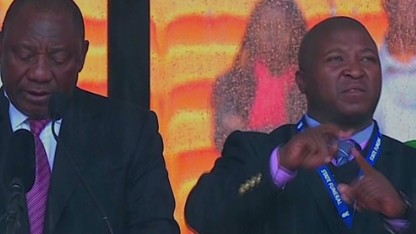 'Fake' interpreter: I have schizophrenia