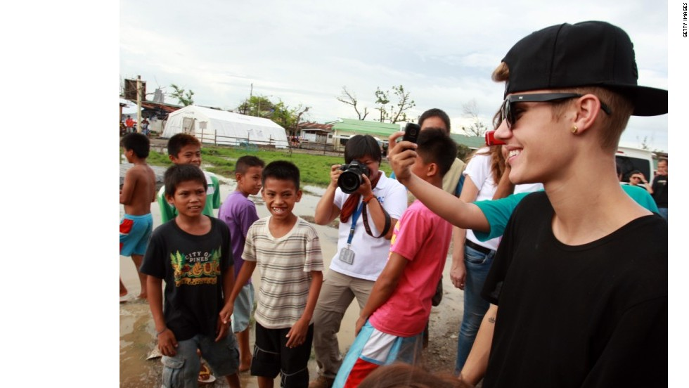 Justin Bieber en Filipinas