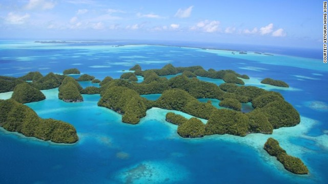 "Palau was designated an ""Environmental Star"" by the Small Island Developing States for its extensive care of marine and terrestrial areas."
