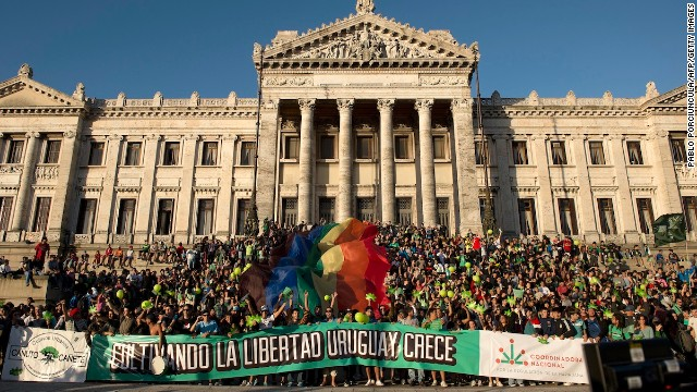Uruguay made headlines this week for passing a landmark marijuana legalization measure. But that's not why it got high marks from Ethical Traveler. Uruguay hits all the sweet spots for environmental and human rights. This year the country legalized gay marriage.