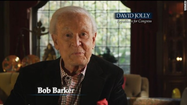Bob Barker says 'the choice is right'