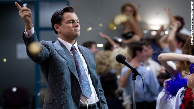 "Best actor in a motion picture, musical or comedy: Leonardo DiCaprio, ""The Wolf of Wall Street"""