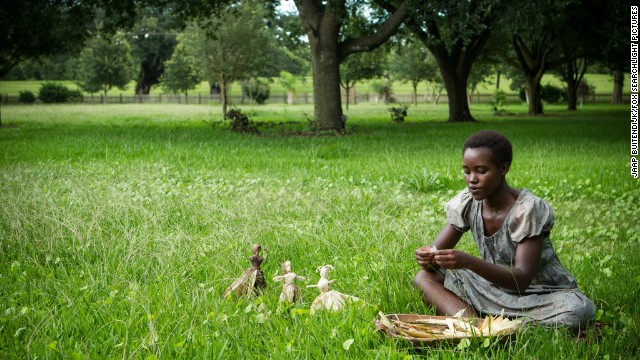 "<strong>Outstanding performance by a female actor in a supporting role:</strong> Lupita Nyong'o, ""12 Years a Slave"""
