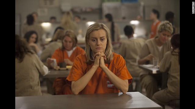 Piper Chapman (played by Taylor Schilling), an entrepreneur who lands in jail for drug offenses she committed years earlier.