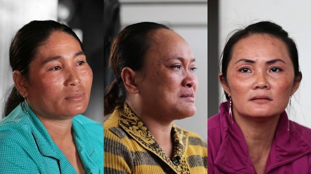 Mujeres que venden a sus hijas como esclavas sexuales