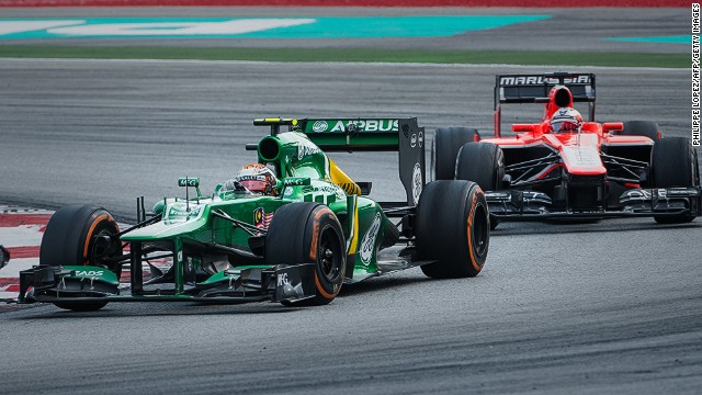 The Caterham and Marussia teams have had an intense rivalry since joining Formula One in 2010.