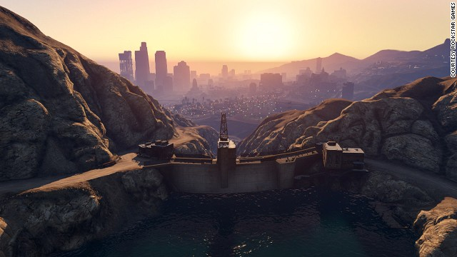"""Grand Theft Auto V's"" San Andreas offers a panoramic slice of California, from its sparkling ocean-side real estate to misty mountainsides."