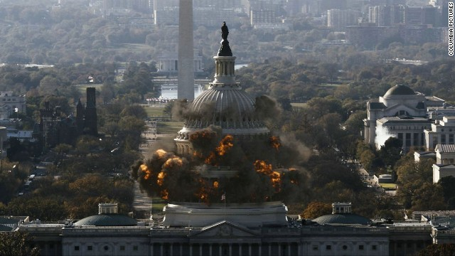 "Loser: Washington. It's not just last in the hearts of its countrymen these days, but two movies -- ""Olympus Has Fallen"" and ""White House Down"" -- wrecked some of the city's landmarks."
