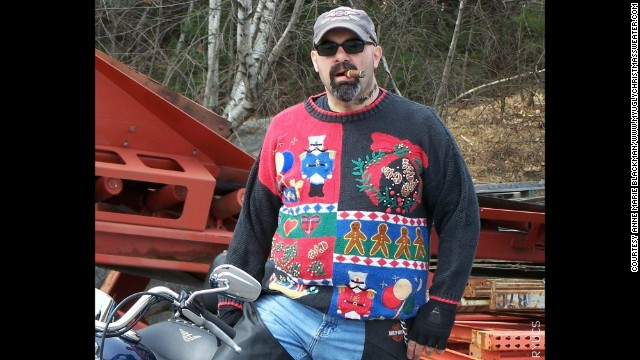 They might be ugly, Blackman said, but so many people want to own the sweaters she finds and embellishes that she has moved her operations from her dining room table to a warehouse space in Killington, Vermont.