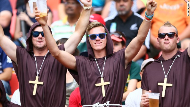 With rugby sevens now officially an Olympic sport, the colorful spectrum of fancy dress costumes will be gracing Rio de Janeiro in 2016.
