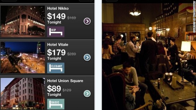 Sites such as HotelTonight offer hotel discounts that require a roll of the dice.