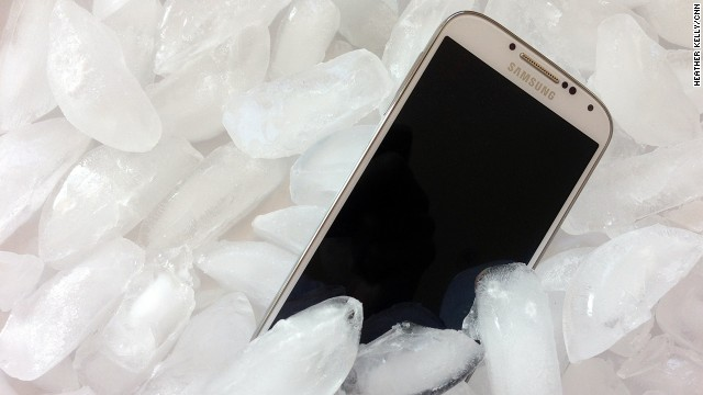 Smartphones can experience performance problems, and break more easily, in extreme cold temperatures.