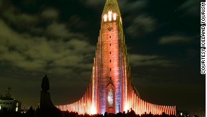 The area around Reykjavik\'s Hallgrimskirkja church will have bonfires and fireworks.