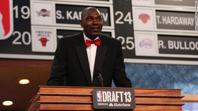 "Hakeem ""The Dream"" Olajuwon, a Hall of Fame basketball player who won two NBA titles with the Houston Rockets, turned 50 on January 21, 2013."