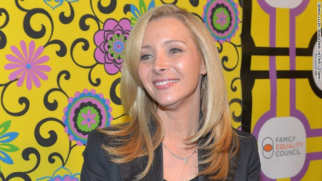 "Actress Lisa Kudrow, best known as Phoebe Buffay on the TV series ""Friends,"" turned 50 on July 30."