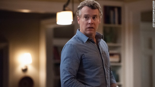 "Actor Tate Donovan, who has appeared in television shows ""Damages,"" ""The O.C."" and ""Hostages,"" turned 50 on September 25."