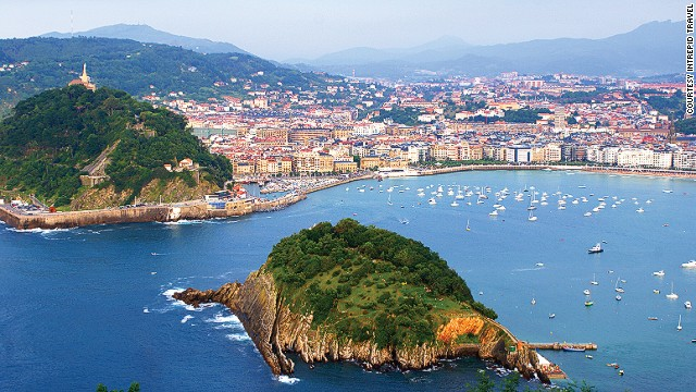 This Spanish city says it has more <a href='http://travel.cnn.com/san-sebastians-amazing-street-michelin-experience-736551'>Michelin stars (a total of 16) per square meter than any other place in the world</a>. It's also gearing up for its 2016 stint as European Capital of Culture. Get there before everyone else does urges Daniel Fesenmaier from Temple University's School of Tourism and Hospitality. Management.