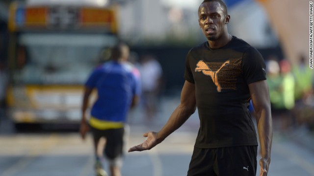 Bolt, from Jamaica, won the IAAF Athlete of the Year award for the fifth time in six years back in November.