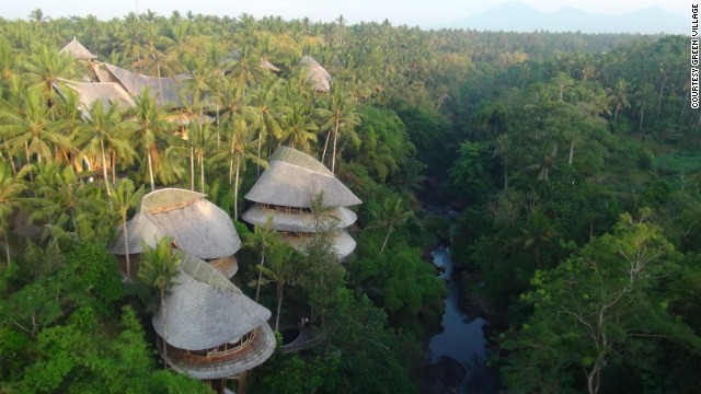 Tucked away in the depths of Bali's lush jungle lies one the of the island's most remarkable settlements -- the Green Village.