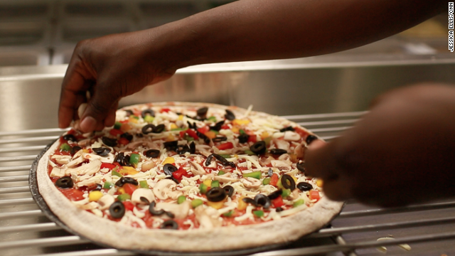 A young entrepreneur has brought to Kenya the concept of Naked Pizza, a franchise that's basing its reputation on the usage of fresh ingredients.