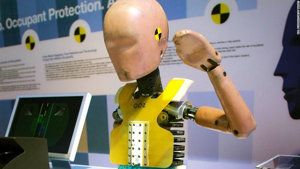 1949: muñecos para prueba de choque