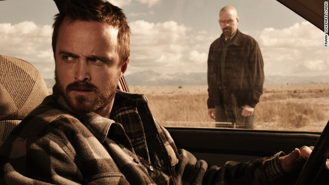 """Breaking Bad,"" b***h! The <a href='http://www.cnn.com/2013/09/30/showbiz/breaking-bad-finale/'>series ended in September</a>, Twitter went nuts, and people STILL can't stop talking about it."