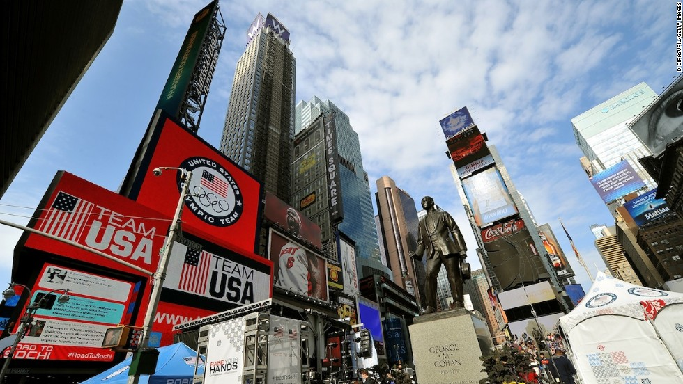 2. Times Square, Nueva York
