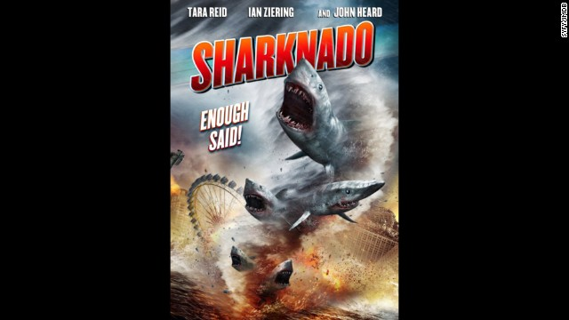"A tornado of sharks that terrorize land dwellers may sound like a ridiculous concept for a movie. OK, it definitely is, but viewers ate it up in July enough to spawn a forthcoming sequel, ""Sharknado 2: The Second One."""