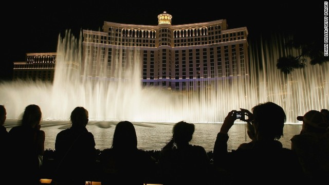 No huge surprise that the Bellagio Fountains, which put on a water, music and light show every 15-30 minutes, made the 2013 list of most Instagrammed places. The free Vegas attraction is a stunner.