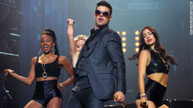 "Robin Thicke owned the summer of 2013 with the July release of his hit album ""Blurred Lines."" The single was -- and still is -- inescapable."
