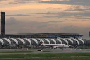 9. Aeropuerto Suvarnabhumi, Bangkok