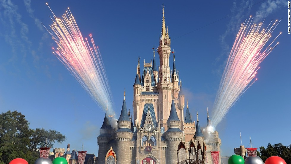 5. Disney World, Orlando, Florida