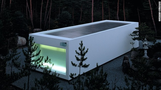 Located on the banks of a lake just outside of Kyoto, this minimalist white temple is in honor of maternal ancestors. Architects Takashi Yamaguchi & Associates wanted to create a space that would envelope the visitor like the inside of a womb.