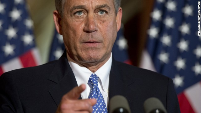 John Boehner has been the speaker of the U.S. House of Representatives since 2011, making him second in line for the presidency, behind the vice president. Look back at his career in politics so far.
