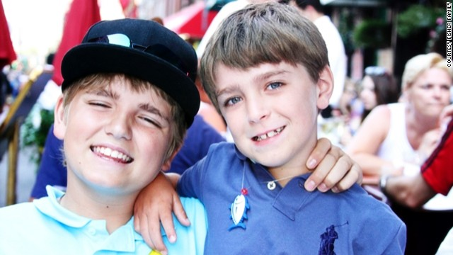 The Fishers do their best to let Ethan live a normal, active life. He and his brother Trey, 12, love football, basketball and baseball, as well as hunting and fishing with their dad.