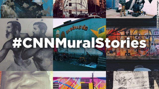 Photographers shared their favorite murals and the stories behind them in CNN's first Instagram challenge.