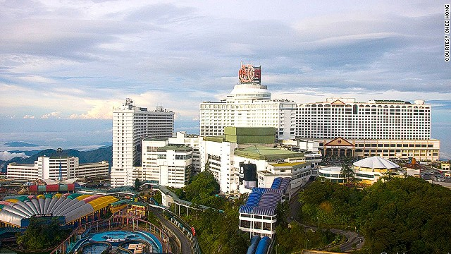 This hill resort, accessible by cable car, is where Malaysians want to go the most.